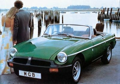 1978 MG MGB Factory Photo c3435-QO9XE7
