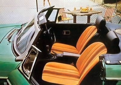 1978 MG MGB Interior Factory Photo c3436-IDZ588