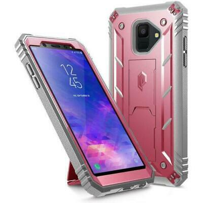 "Poetic® For Samsung Galaxy A6 2018 Case [Revolution] ""w/ Kick-Stand"" Cover Pink"