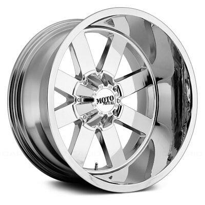 Moto Metal MO962 Wheel 20x12 (-44, 8x165.1, 125.5) Chrome Single Rim