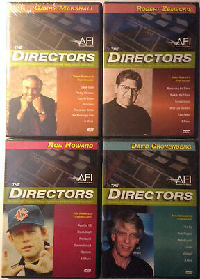 New The Directors 4 Dvd Set - Ron Howard - G Marshall - R Zemeckis -D Cronenberg