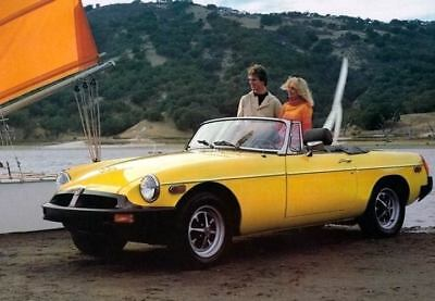 1978 MG MGB Factory Photo c4022-LK7LV9