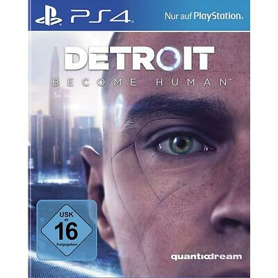 Detroit Become Human Sony PS4 Spiel Playstation 4 NEU&OVP