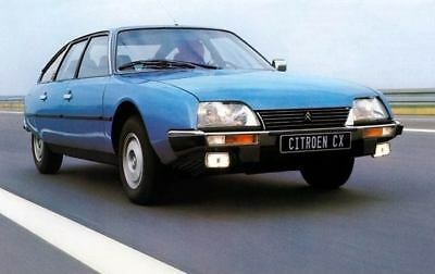 1979 Citroen CX Factory Photo c4221-RYFDWA