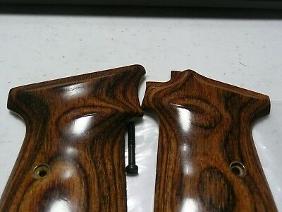 ALTAMONT WALTHER PPK/S Rosewood Grips Walther Banner