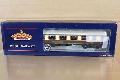 BACHMANN 39-290 BR MK1 PULLMAN FIRST FP COACH EMERALD with LIGHTING MIB nq
