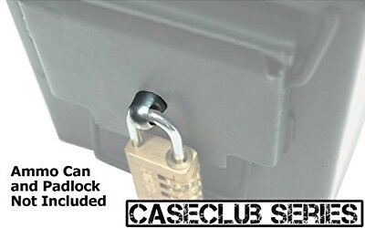 Case Club Locking Hardware for Steel Ammo Can Work With Medium Size Locks
