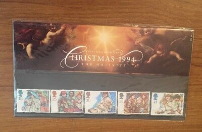 1994 Christmas Royal Mail Mint Stamps Presentation Pack