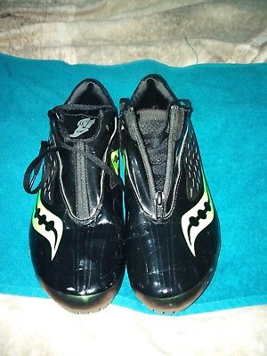 Men's running shoes spikes, trainers size 8.5. Used a few times