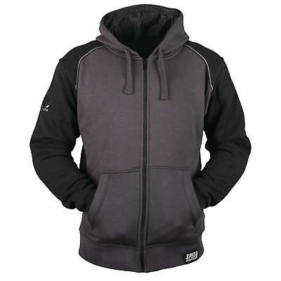 Speed & Strength Cruise Missle Armored Hoody Lg Black/Charcoal 879751
