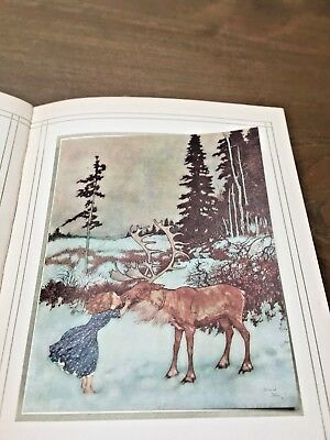 Stories From Hans Anderson by Edmund Dulac (ill.) 1912 (2nd edition) 28 illustra