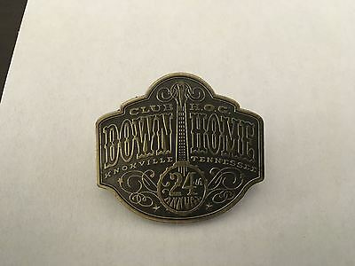 K8) Harley-Davidson 2007 H.O.G. Down Home Knoxville Tennessee Motorcyle Pin *