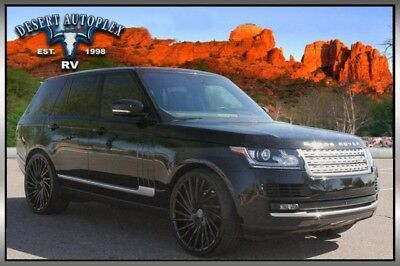2016 Land Rover Range Rover  2016 Land Rover Range Rover Turbo Charged HSE TD6