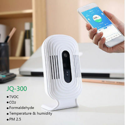 JQ300 PM2.5 Air Quality Humidity Tester Wifi Smart Monitor Formaldehyde Detector