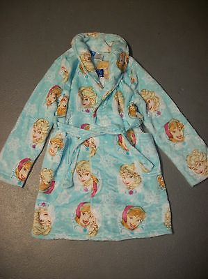 Nwt Disney Frozen Anna & Elsa Bath Robe Girls Pajamas Sz S 6 6X M 7 8 L 10 12