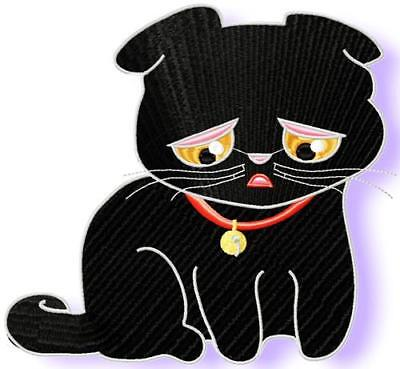 Expressions Kitty10  Machine Embroidery Designs Cd 3 Sizes