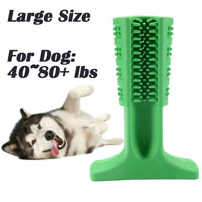 Dog Toothbrush Pet Brush Stick Teeth Cleaning Chew Toy For Dogs Oralcare PS261
