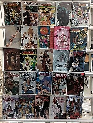 Adam Hughes Comics Huge 25 Comic Book Collection Lot Comics Set Run Books Box 1