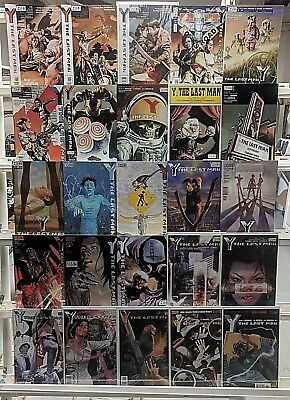The Last Man Huge 25 Comic Book Collection Lot Comics Set Run Books Box 2