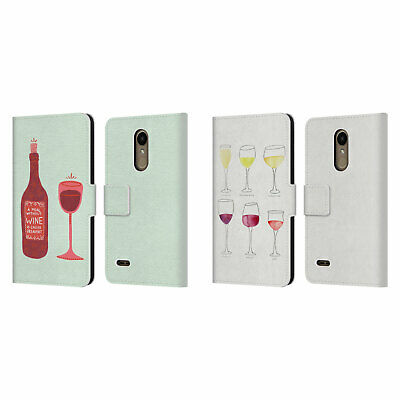 Official Cat Coquillette Wine Leather Book Wallet Case For Lg Phones 1