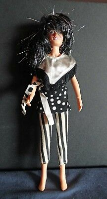 Jem & the Holograms Jetta of the Misfits doll with original outfit