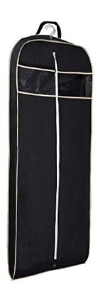 """Garment Bag 60"""" for Suit Dress with Zipper Pocket, Cover clothes, clear travel"""