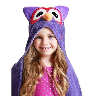 Zoocchini Toddler Towel - Olive the Owl