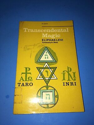 Transcendental Magic Eliphas Levi Rider and Co. Alchemy Tarot Occult AE Waite