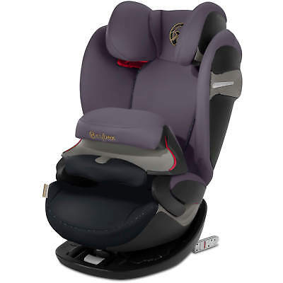 Cybex Pallas S-FIX - Premium Black - Group 1-2-3 Children Car Seat Nip