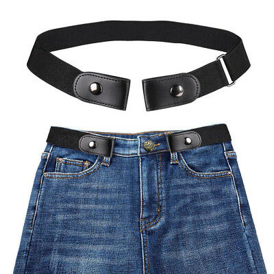 Unisex Buckle-free Elastic Invisible Comfortable Belt For Jeans No Bulge Hassle