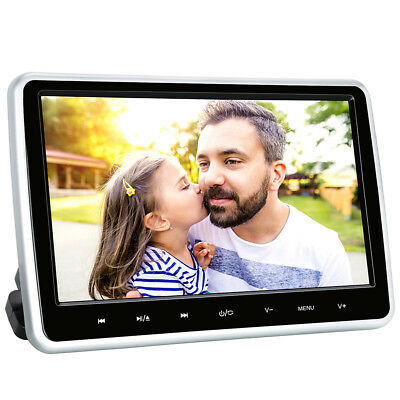 "10.1"" HD Monitor Poggiatesta Lettore DVD Auto Suction Drive With Touch Button"