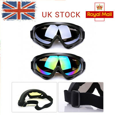 Motorcycle Goggles Clear Lens Fitover Fit Over Prescription Glasses Burning Man