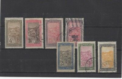 Madagascar , 1908, 7 Mh/used Type 5 ( Please See Descr. ).......