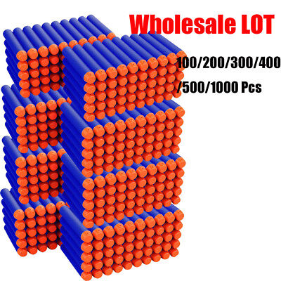Wholesale Lot Soft Bullet Darts For NERF N-Strike Kids Toy Gun Blasters Gift