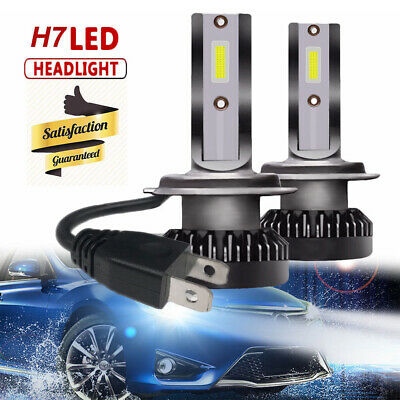 Super Bright H7 LED 200W Ampoule Voiture Feux Lampe Kit Phare COB 6000K LD1618