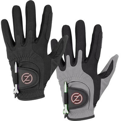 Zero Friction Storm Winter Golf Gloves One Size Compression Fit Mens Pair