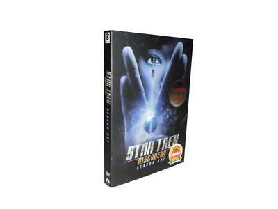 Star Trek  Discovery: The First Season One 1 (4-Disc Set) New