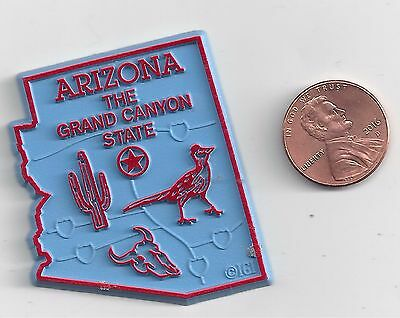 """Arizona   """"the Grand Canyon State""""   Az Outline Map Magnet , New"""