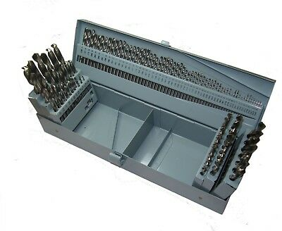 "Rdgtools 115Pc Hss Drill Set 1/16"" - 1/2"" Letter Drill A-Z Wire Drill 1-60"