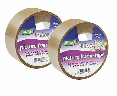 ULTRATAPE Picture Frame Tape 48mm x 33m NEW (2 Pack)