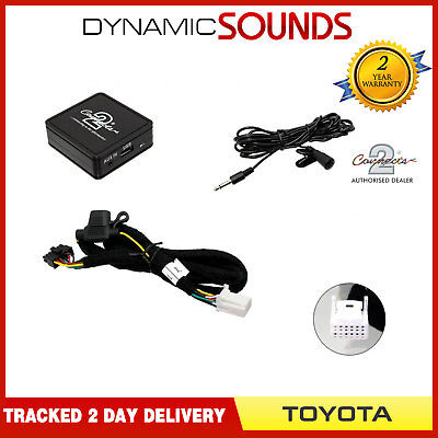 CTATYBT002 Bluetooth Streaming Handsfree Calls Music AUX MP3 iPhone for Toyota