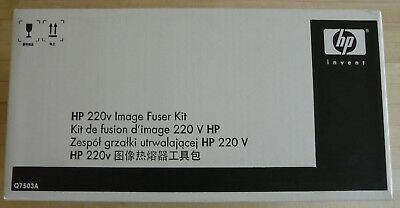 HP 220v IMAGE FUSER KIT Q7503A New Factory Sealed Box Genuine Original