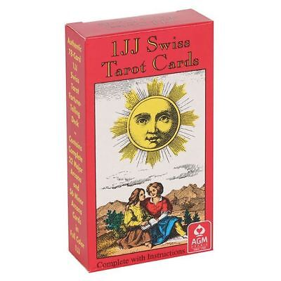 IJJ Swiss Tarot Cards Divining Divination Occult Fortune Telling Witch