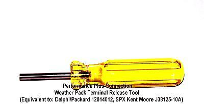 Harley Weatherpack Terminal Removal Disassembly Tool Mate-N-Lok - Made In USA