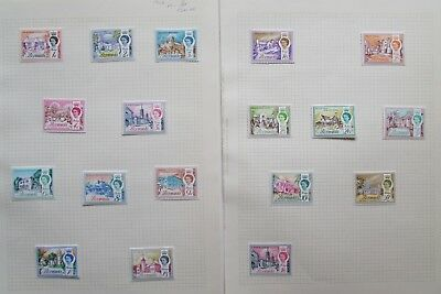 XL3746:  Bermuda (1962):  Complete Set Mint Stamps to £1