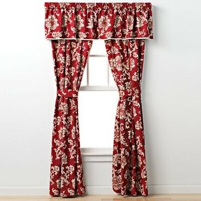 NEW! CHAPS By RALPH LAUREN FRENCH RIVIERA FLORAL JACOBEAN VALANCE 2 AVAIL RARE!