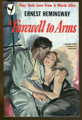 A Farewell to Arms by Hemingway-Vintage Bantam Paperback First Printing-1949