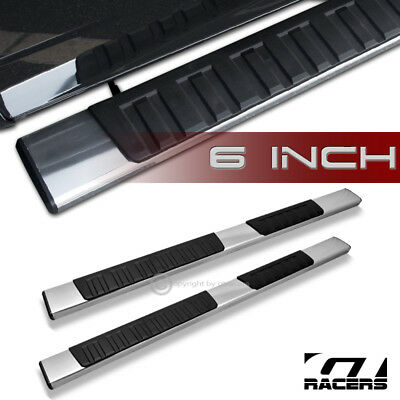 """2007-2018 Silverado Ext/Double Cab 6"""" Oe Style Aluminum Side Step Running Boards"""