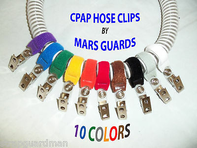 The Original CPAP HOSE CLIP-STOP the BLOW-BY- CONTROLS TUBING  CPAP/BIPAP/APNEA