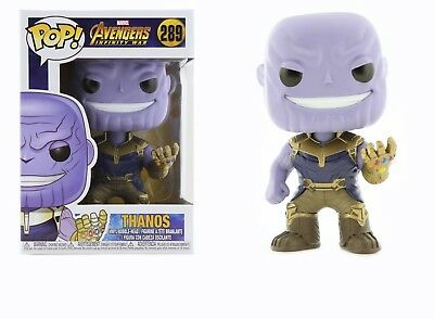 Funko Pop Marvel Avengers Infinity War: Thanos Bobble-Head Item #26467